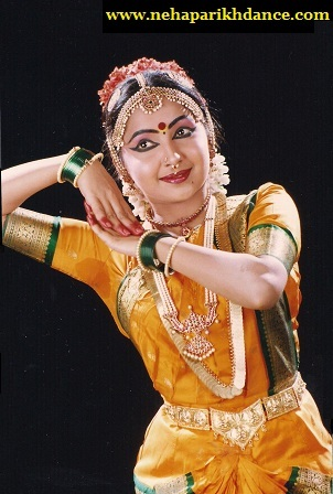 Neha during her arangetram